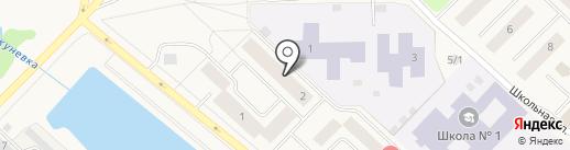 Армада-клуб на карте Излучинска