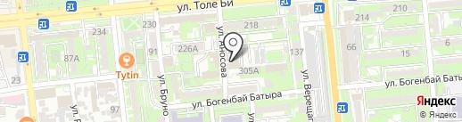 Otau TV на карте Алматы