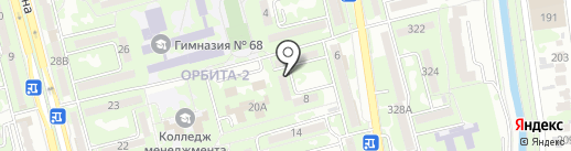 Специализированный детско-юношеский молодежный спортивно-технический клуб по автоспорту на карте Алматы