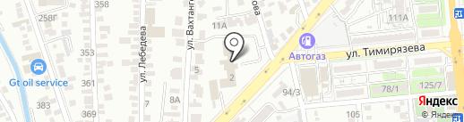 Центр санитарно-эпидемиологической экспертизы Бостандыкского района на карте Алматы