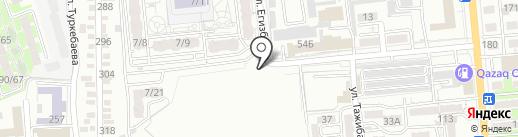 SiM на карте Алматы