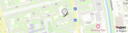 Алтын-ай на карте Алматы