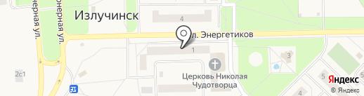Банкомат, Запсибкомбанк, ПАО на карте Излучинска