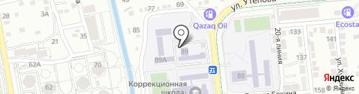 Детский дом №2 на карте Алматы