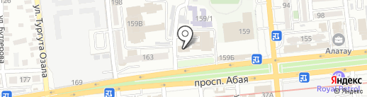 Корейский центр просвещения на карте Алматы