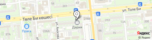 JUST NAILS на карте Алматы