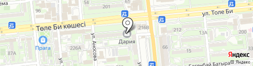 Click Me на карте Алматы