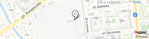 RSSteel, ТОО на карте Алматы