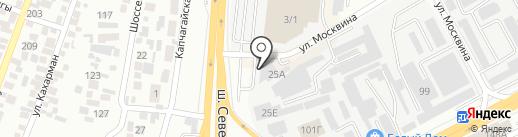 НурмакСтрой на карте Алматы