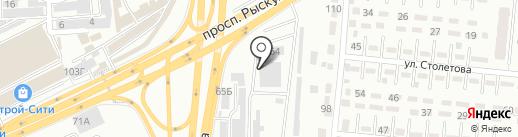 Эсмун, ТОО на карте Алматы