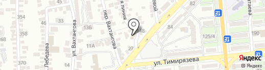 Пара Кадров на карте Алматы