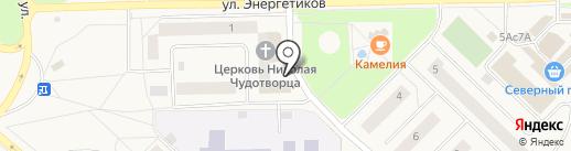 Почтовое отделение на карте Излучинска