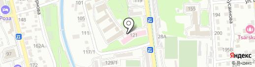 Алматинский городской дом-интернат для инвалидов и лиц с психоневрологическими расстройствами на карте Алматы