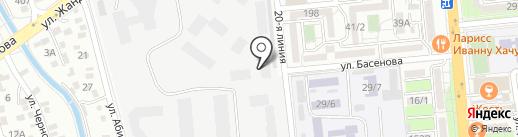 Alco Spirits, ТОО на карте Алматы