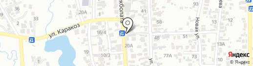 Почтовое отделение связи №24 на карте Алматы
