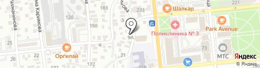 Flying Lotos на карте Алматы