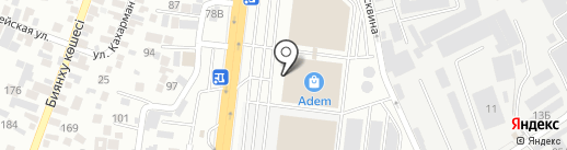 BEST на карте Алматы