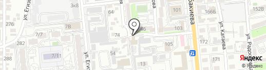 Росс 777 Сервис на карте Алматы
