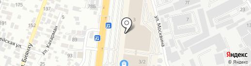 Карина на карте Алматы