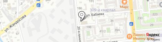 PIFAGOR на карте Алматы