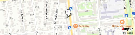 Зам Зам на карте Алматы