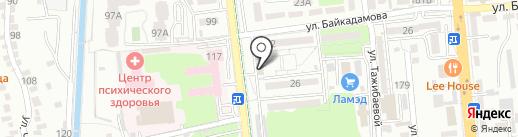Pit-stop, пункт замены масла на карте Алматы