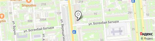 O`nest на карте Алматы