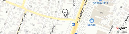 Рамина на карте Алматы