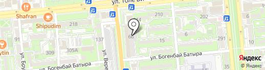 Дом 66, КСК на карте Алматы