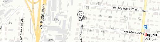 Размик на карте Алматы