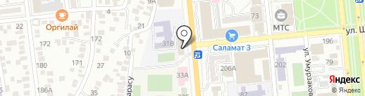 Агайын на карте Алматы