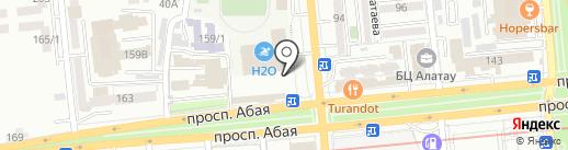 АДК на карте Алматы