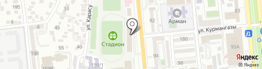ATMAN.KZ, ТОО на карте Алматы