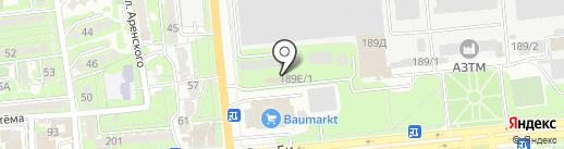 AWD Auto Service на карте Алматы