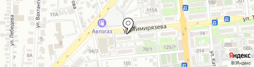 Нотариус Нусупбаева Л.М. на карте Алматы