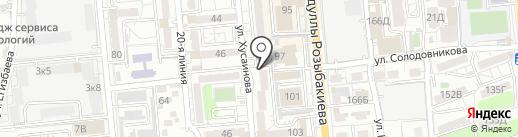 Palitra-izo на карте Алматы