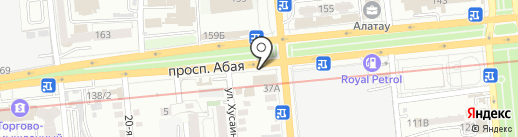 Colours Group, ТОО на карте Алматы