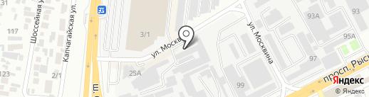 Инвольт на карте Алматы