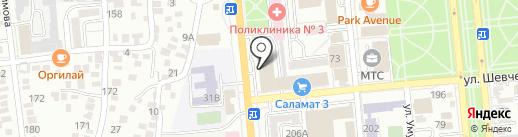 GeTex на карте Алматы
