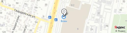 Мир дисков на карте Алматы
