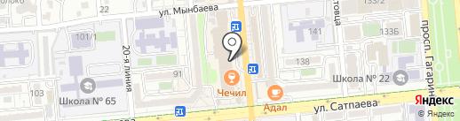 Шарик в дом на карте Алматы