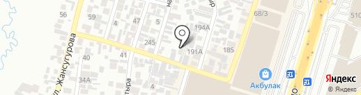 Ер-нур на карте Алматы