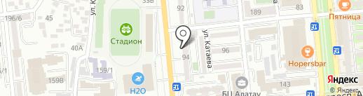 Нотариус Сартаева Н.Ш. на карте Алматы