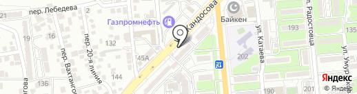 DanEx Plus на карте Алматы