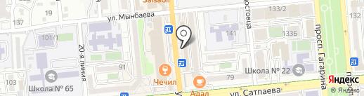 Ирина на карте Алматы