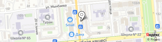 PariMatch.kz на карте Алматы