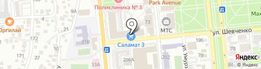 Мир паркета на карте Алматы