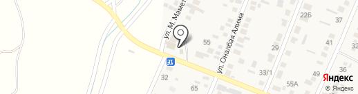 Автосервис на карте Жапека Батыра