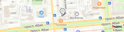 Polygon International на карте Алматы
