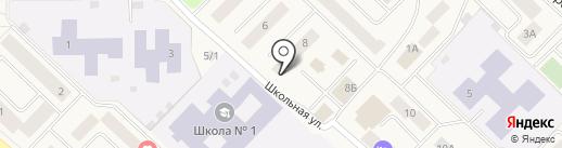 Евгений на карте Излучинска